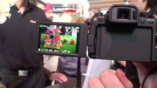 Panasonic Lumix G2 - touchscreen