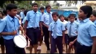 Kannada school boys comedy dance