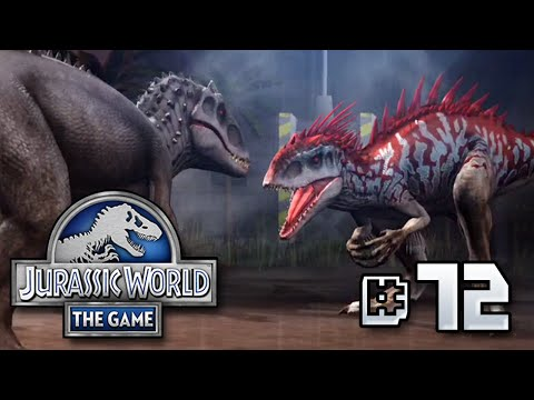 Indominus VS Indominus!! + Giveaway Results || Jurassic World - The Game - Ep 72 HD