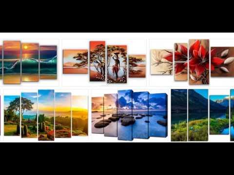 Партнерские продажи модульных картин и репродукций картин известных художников
