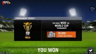 WCC 2 World cup final match  (Bangladesh VS India) gameplay Double hat trick don't miss