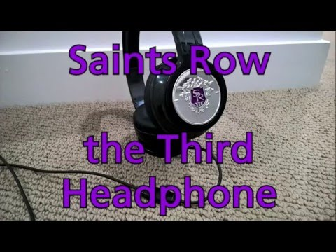 Saints Row the third platinum pack headset Review
