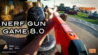 Nerf meets Call of Duty: Gun Game 8.0 | First Person in 4K!