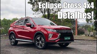 Mitsubishi Eclipse Cross 2019 em detalhes - Falando de Carro