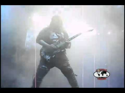 SLAYER Jeff Hanneman shredding on CAPITAL CHAOS 2010