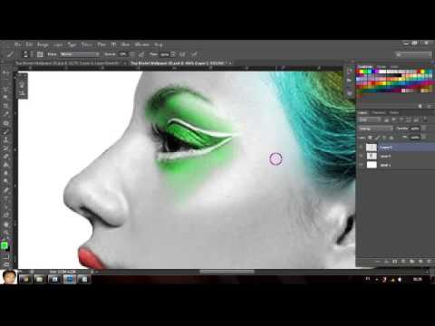tutorial Photo Paint Abstract