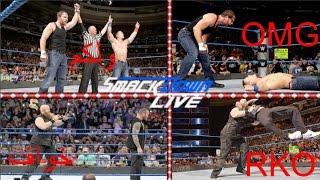 ملخص عرض سماك داون لايف (عودة جون سينا)WWE Smackdown Live 9/13/2016 Highlights