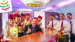 Als VIP mit Qatar Airways in Business fliegen | GlobalTraveler.TV