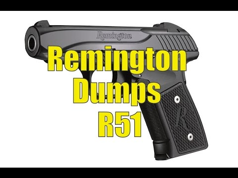 Breaking News Remington Replaces R51 With New Model