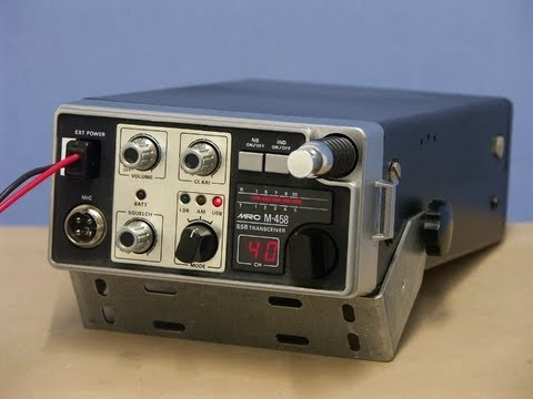 MARS Radio Corporation MRC M-458 portable SSB/AM-CB-radio