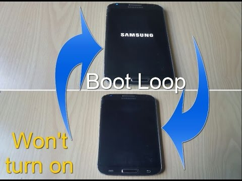 ANY SAMSUNG PHONE FIX: BOOTLOOP.WONT TURN ON or STUCK on Samsung logo