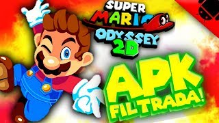 Se Filtro! Apk Super Mario Odyssey 2D para Android + links de descarga!!