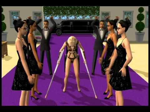 Lady Gaga - Paparazzi - Sims 2 Music Videos