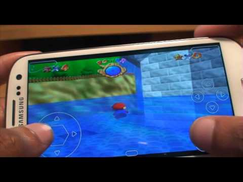 Retro Games on Samsung Galaxy S3 N64oid Hands on Games / App Review Part1