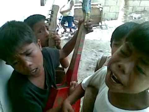 Kids Singing Impatso - funny Bisaya song