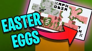 30 Minecraft Easter Eggs You May Not Know