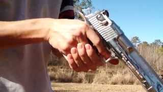Desert Eagle Fire Test
