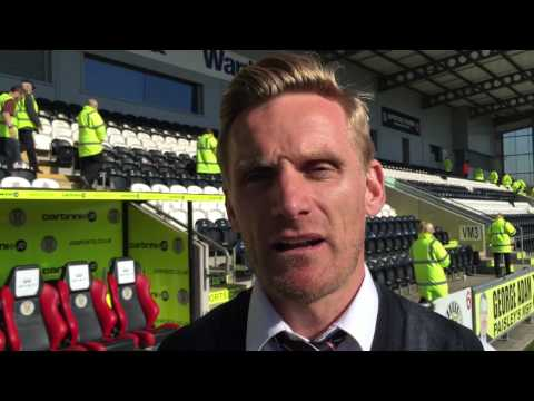 Gary Teale * Match Reaction * St Mirren v Kilmarnock * 25/04/2015