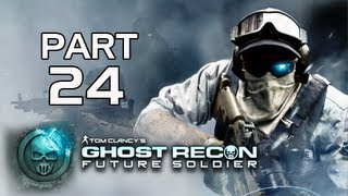 Ghost Recon Future Soldier Walkthrough - Part 24 [Mission 9] Valiant Hammer Let's Play PS3 XBOX PC