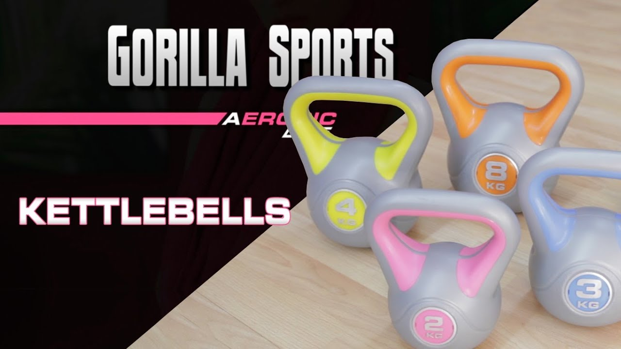 gorilla sports kettlebell 6 kg stylish kunststoff ab 15 28 preisvergleich bei. Black Bedroom Furniture Sets. Home Design Ideas