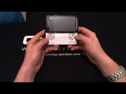 Sony Ericsson Xperia PLAY (R800i) 'Black & Silver' Unboxed