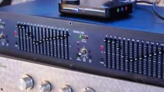 Test dbx 1215 | Dual Channel 15-Band Equalizer