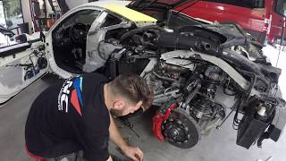 REBUILDING A WRECKED FERRARI 488 GTB FROM COPART PART 5