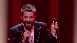 Albania Screaming for 4 Minutes || Eurovision 🇦🇱