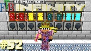 Minecraft Mods - FTB Infinity Ep. 52 - Tech Day T.E. Room !!! ( HermitCraft Modded Minecraft )