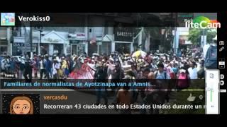video Familiares de normalistas de Ayotzinapa van a Amnistía Internacional en EE.UU. La intervención de los padres de los normalistas ante Amnistía Internacional foma parte de la Caravana 43,...