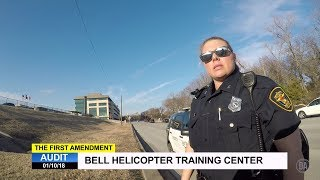 First Amendment Audit - Bell Helicopter - Fort Worth, TX