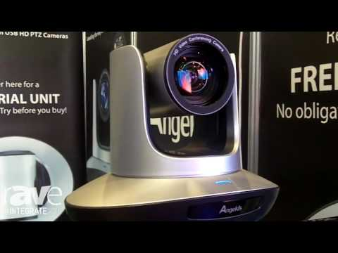 Integrate 2016: Angekis Features the Saber USB3 PTZ Camera