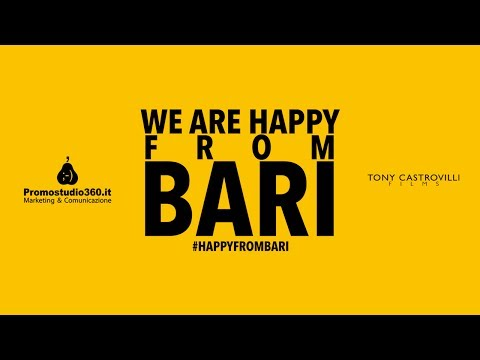 We Are Happy From Bari - Pharrell Williams #happyday video