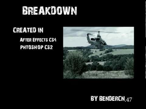 FREAKOUT - Cobra Helicopter 2D flight - After effects