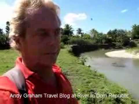 Andy Graham Travel Blog about River and Food in Dominican Republic