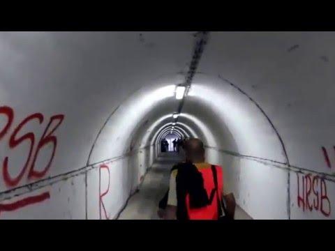 """Marakana stadium,""""walking-player tunnel"""""""