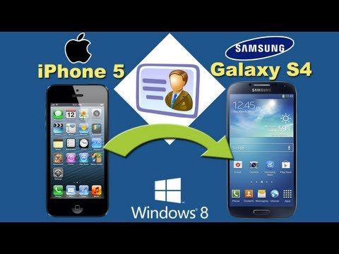 Sync Outlook Contacts With Galaxy S4, Import & Transfer Contacts From ...