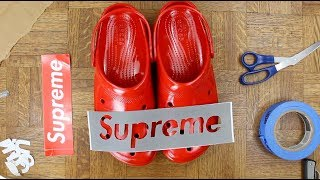 SUPREME X CROCS CUSTOM - We Made HISTORY!!!