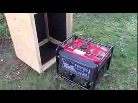Sound Proof Generator Box | How To Save Money And Do It ...