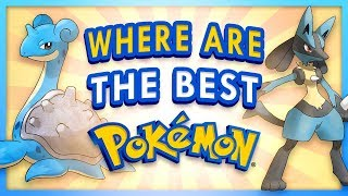 Which Region Has The BEST Pokemon of Each Type?