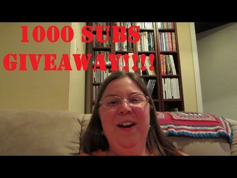 1000 Subscribers GIVEAWAY TIME