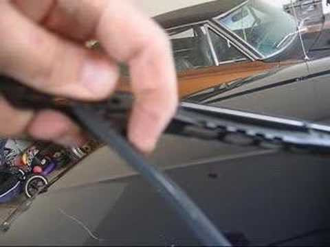 Change Wiper Blades on a Tahoe