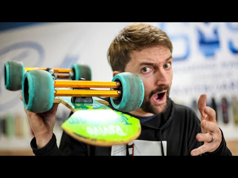 Most Technologically Advanced Longboard HACKS!