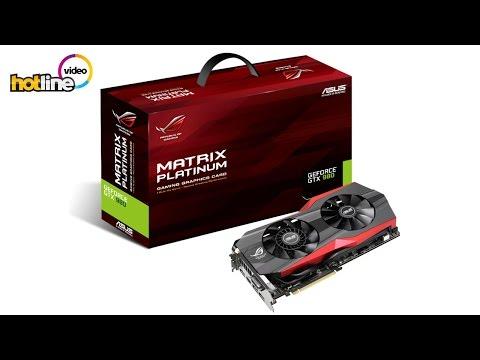 Обзор видеокарты ASUS GTX 980 MATRIX Platinum