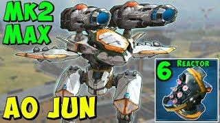 New AO JUN Flying Stealth Dragon Mk2 Maxed Gameplay War Robots WR