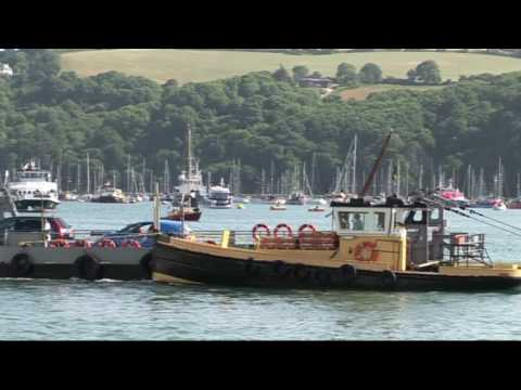 BEAUTIFUL DARTMOUTH DEVON U.K. (PART 1)  IN HIGH DEFINITION 29/06/2010.