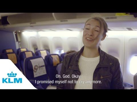 Kedves meglepetés KLM módra