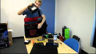 Thermaltake TT eSports Battle Dragon LAN Bag Unboxing & First Look Linus Tech Tips