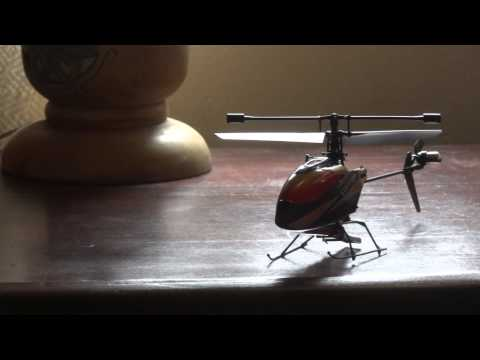 V911 4 Channel 2.4GHz Single Blade RC Helicopter with Gyro Features - Lightake