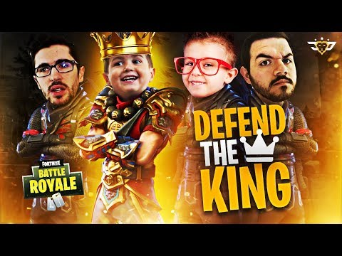THE FIRST EVER DEFEND KING CONNOR CHALLENGE!!! (Fortnite: Battle Royale)